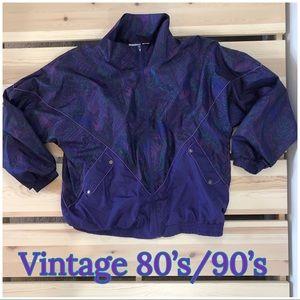 Vintage 80's/90's Windbreaker Jacket Retro Fun